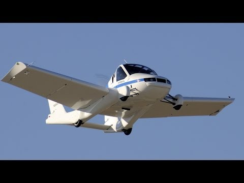 ► Flying Car 'Transition' First Public Demonstration