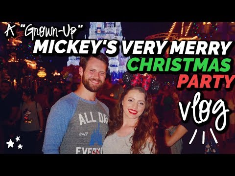 A Grown Up Mickey's Very Merry Christmas Party | No Kids, No Problem