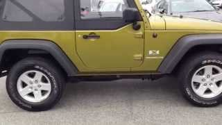 2008 Jeep Wrangler 4WD V6 Auto Review at Eagle Ridge GM in Coquitlam, BC