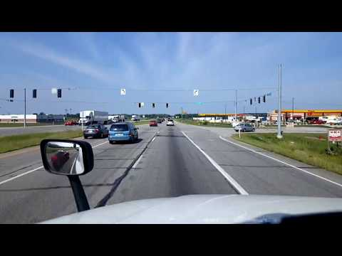 BigRigTravels LIVE! - Plymouth, Indiana to Hampshire, Illinois- US 30,I-80,355 & 90 -8/20/17