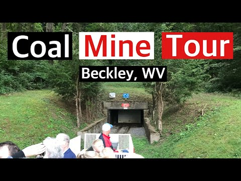 Coal Mine Tour (Full Video) Beckley West Virginia - True Southern Accent