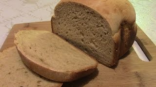 Медово-горчичный хлеб в хлебопечке.