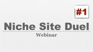 Niche Site Duel #001 - How To Find Profitable Niche Markets & Outsource It