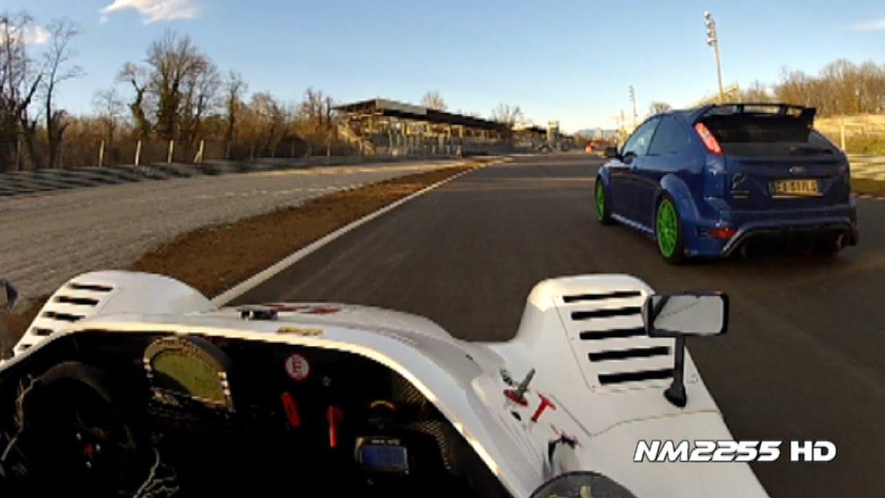 270km/h in Radical SR8 V8 on Track!