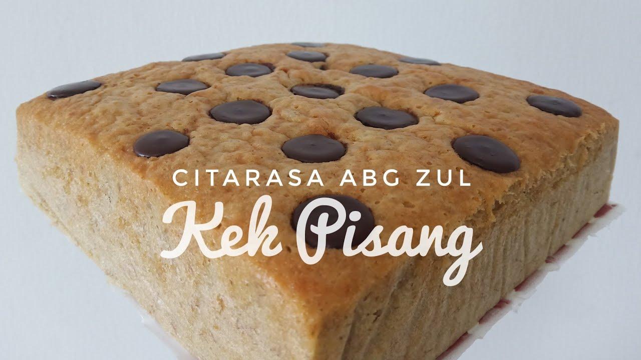 resepi kek pisang gebu rasmi sud Resepi Kek Coklat Cheese Azie Kitchen Enak dan Mudah