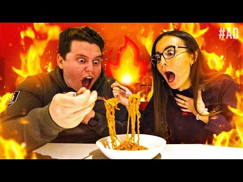 WORLD'S HOTTEST NOODLE CHALLENGE WITH MY GIRLFRIEND