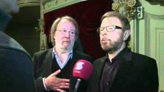 ABBA Björn Ulvaeus & Benny Andersson interview by Tomi Lindblom (2011)