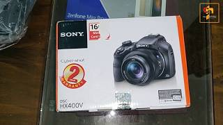 Sony HX400V Compact Camera with 50x Optical Zoom Unboxing in Hindi
