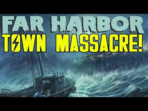 FALLOUT 4 DLC WITH 111 MODS! Far Harbor (#1)