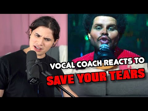 Vocal Coach Reacts to The Weeknd – Save Your Tears (Official Video)