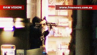 RAW: Sydney siege ends with gunfire, explosions and hostages shot