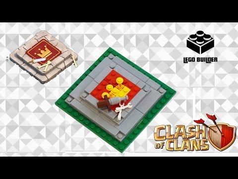 Lego Clash Of Clans Barbarian King Altar - MOC