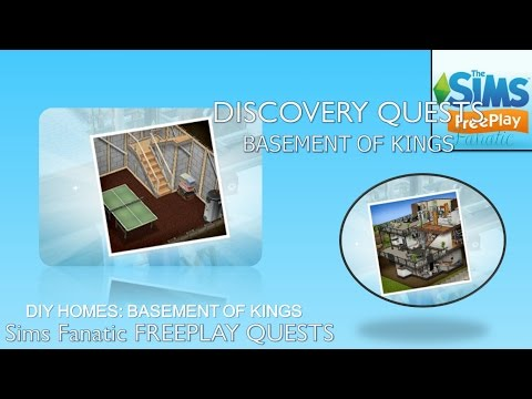 Sims FreePlay – DIY Homes (Basement of Kings)