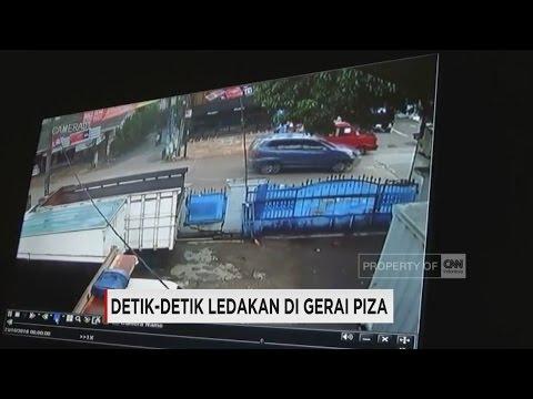 CCTV Detik-Detik Ledakan di Gerai PHD Bekasi
