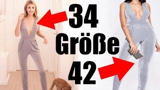 Ich teste ONE SIZE FITS ALL Kleidung & BHs von PRIMARK & CO 😳 ERNSTHAFT?! 🙈 | XLAETA