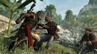 Assassins creed Freedom Cry Free Roam + Action Combat, Takedown, & Melee Attack 60fps PS4 Part 3