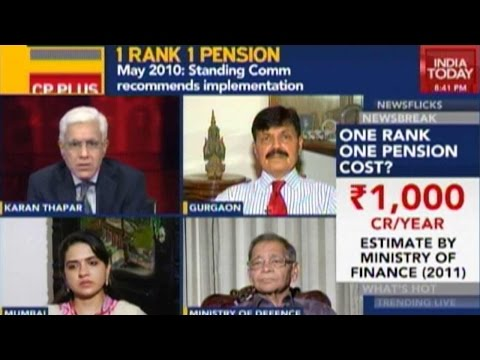 To The Point: Govt Backtracking On One Rank, One Pension Issue?