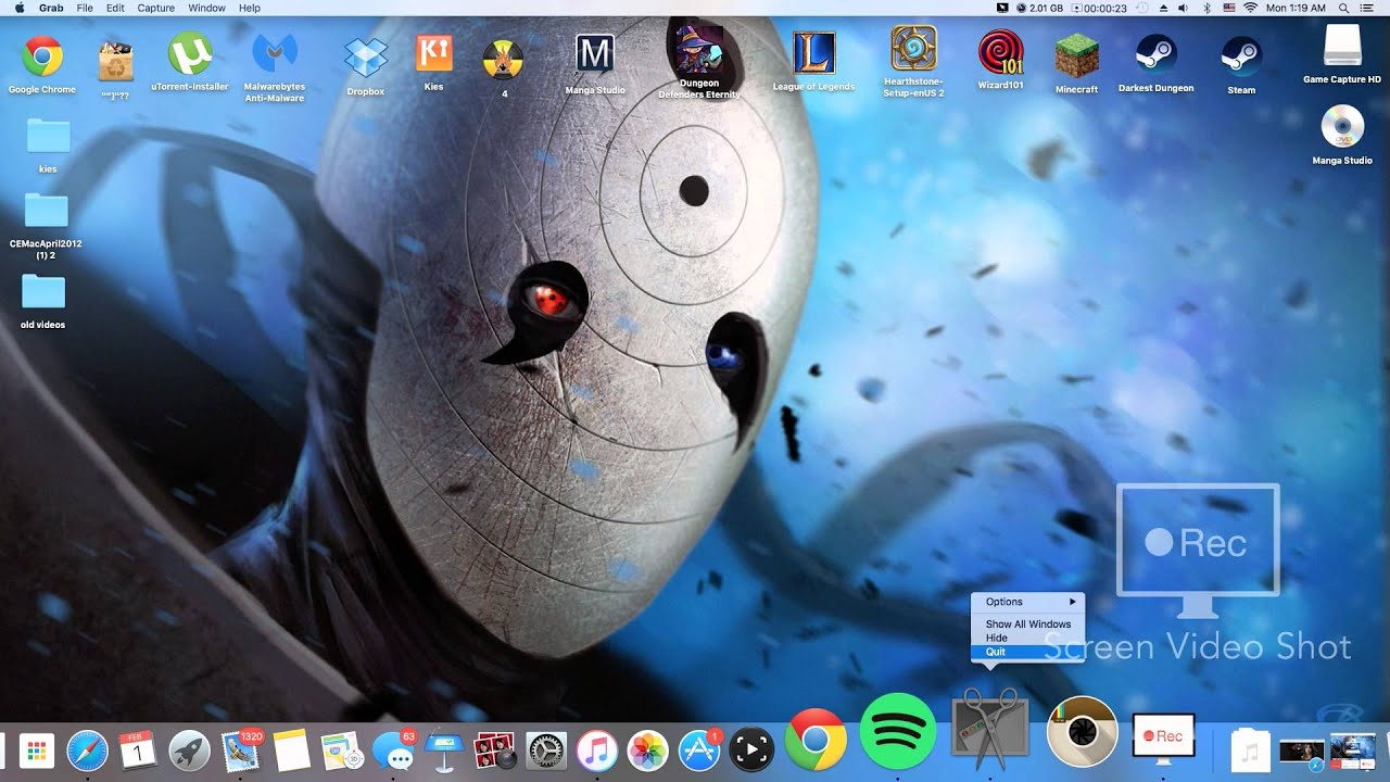 How To Screenshot On Imac Without Shortcut Keyboard