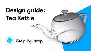 3D Modeling a Tea Kettle on iP…