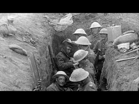 Conditions in Trenches - Dan Snows Battle of the Somme