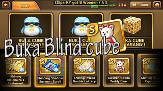 Line Get Rich Buka Blind Cube Pendant Awaken Goblin Teddy Bear