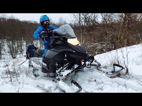 Снегоход Yamaha FX Nitro - ДЕТСКИЙ ТЕСТ ДРАЙВ