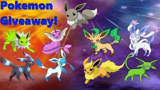 🔴Live!Shiny Eeveelutions Pick Any Pokemon You Want! Pokemon! Giveaway! Part 2! (Check Out My List!) thumbnail