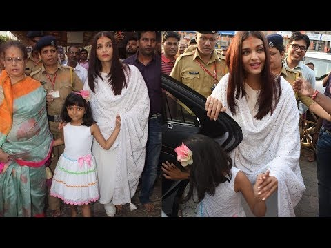 Oh ! Where is Jaya ? Aishwarya Rai bachchan spotted with mom & daughter on her birthday 🎂.