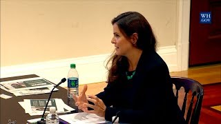 Jessica Hulsey Nickel Testifies Before The President's Commission