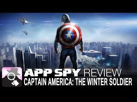 Captain America: The Winter Soldier   iOS iPhone / iPad Gameplay Review - AppSpy.com