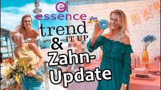 ZAHNSPANGE mit 26?!😮 Trend It Up & Essence Event I VLOG I Cindy Jane
