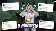 RESPONDIENDO 100 PREGUNTAS EN 5 MINUTOS 🤯 Kimberly Loaiza