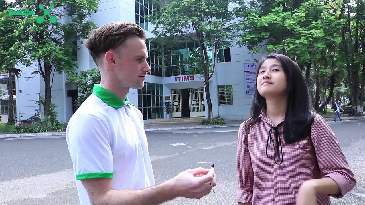 Phỏng vấn về kinh nghiệm học tiếng Anh của Sinh viên Hà Nội