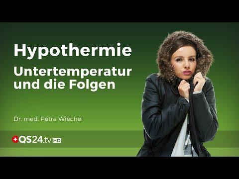 Hypothermie: Untertemperatur und die Folgen