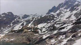 Rifugio Curò 1915m, lago del Barbellino, borgo di Maslana (BG) 7 Maggio 2016