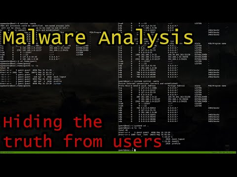 Malware Video Analysis | Checking out a User-land Rootkit