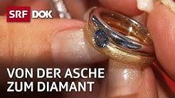 Diamant aus der Asche von Verstorbenen | Kurt ist jetzt ein Diamant | Reportage | SRF DOK
