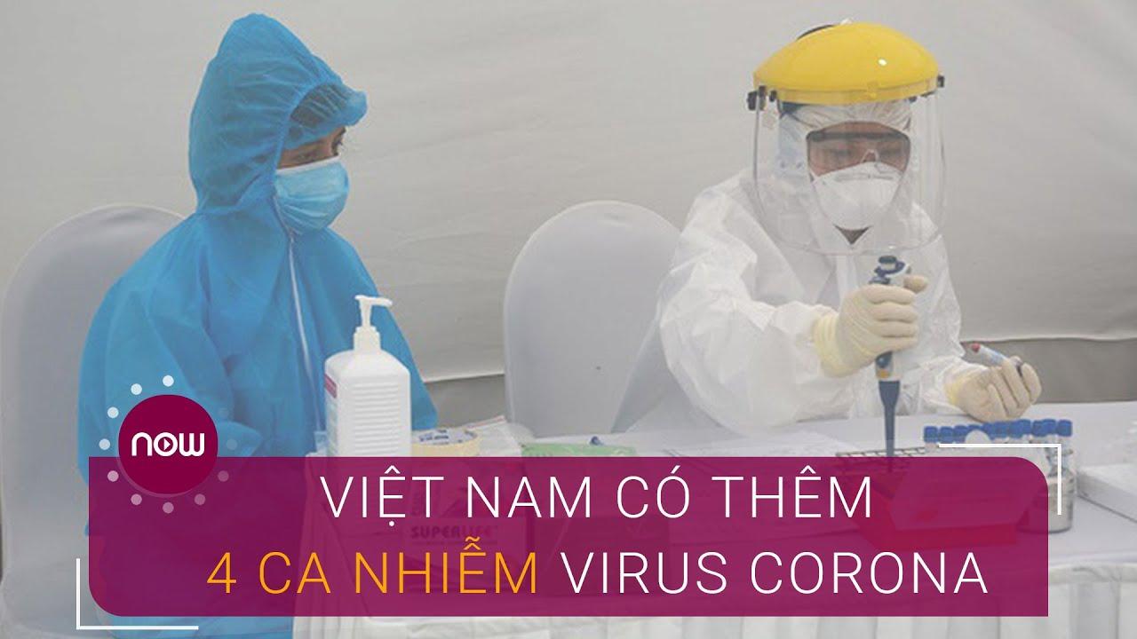 Chiều 9/4: Việt Nam thêm 4 ca nhiễm virus Corona mới   VTC Now