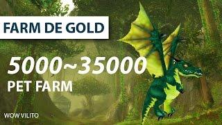 Farm de Gold - Dragonetinho Esmeralda - 5k a 35k gold