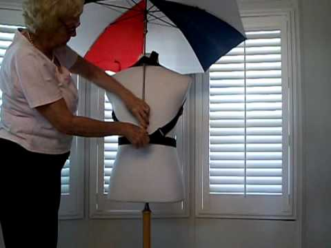 Hands Free Umbrella Holder Promo - YouTube