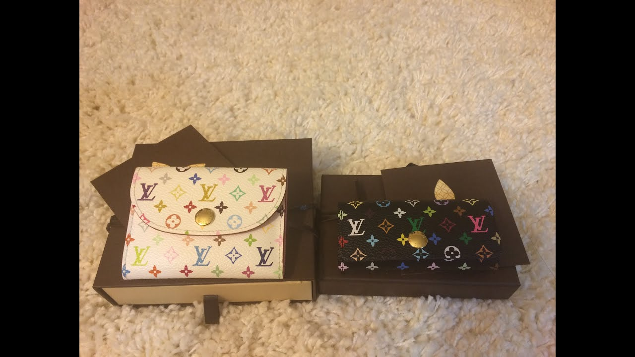 Louis Vuitton Key Holder and Business Card Holder Reveal / Haul ...