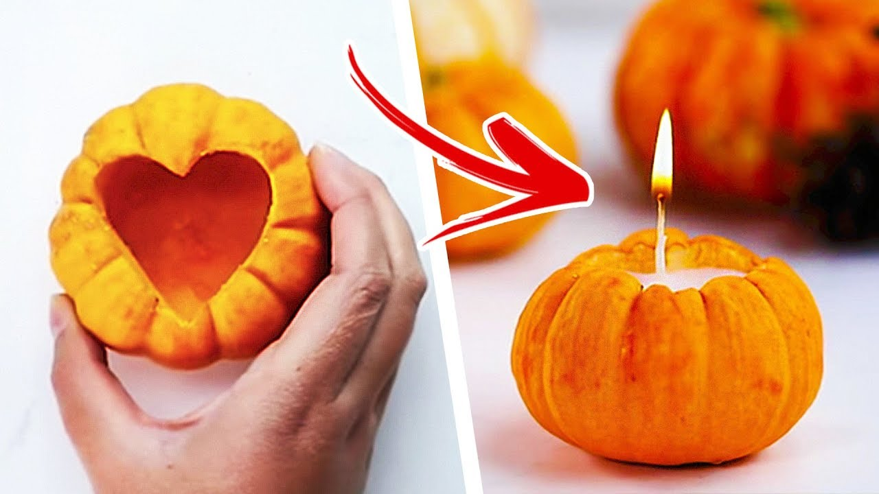 7 Awesome Fall Craft Ideas Diy Candles Autumn Crafts For Kids Factory Youtube