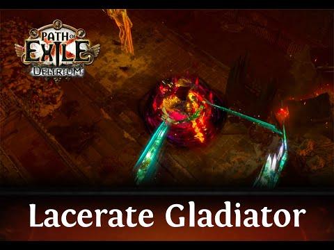 Path of Exile - Lacerate Gladiator Delirium 3.10