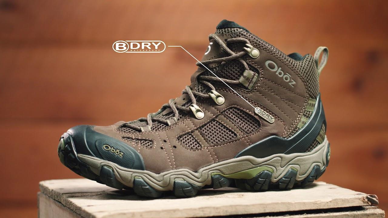 a3c2fb44873e29 Men's Bridger Vent Mid Waterproof. Oboz Footwear