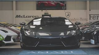 Lamborghini Aventador Start Up