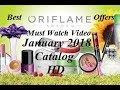 Oriflame january 2018 Catalog full HD || Oriflame January 2018 catalogue full HD