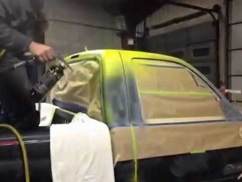 Yellow Raptor Bed Liner Youtube