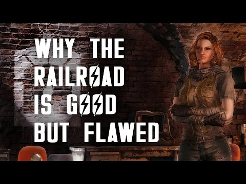 Why the Railroad is Good but Flawed - Fallout 4 Lore