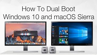 How to Dual Boot Windows 10 and macOS Sierra on PC | Hackintosh | Step By Step