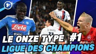 Le onze type de la Ligue des Champions #1